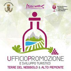 Design del logo per l'UFFICIO PROMOZIONE e sviluppo turistico Terre del nebbiolo e Alto Piemonte