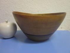 Tall Danish modernist TEAK canoe bowl era Quistgaard Orskov - 50s mid-century
