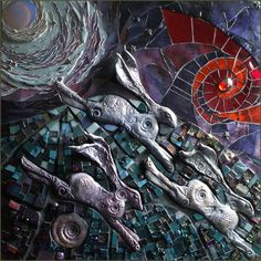 Race To the Dawn - Julie Hand mosaics Staithes