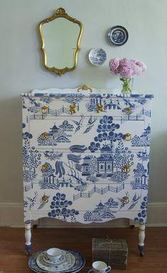 blue willow dresser beauty shot