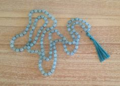 blue beads, so deliciously round!
