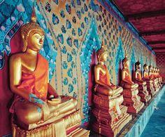 Bangkok Buddha photographic wall mural M9117