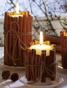 #Inspiration- since cinnamon is a sun-related ingredient it is thought to be useful in protection magic. For a simple cinnamon protection amulet, tie nine cinnamon sticks together and hang the bundle above your door to protect your home from from unwanted people and energies. Laying cinnamon sticks along your window sill will serve the same purpose.