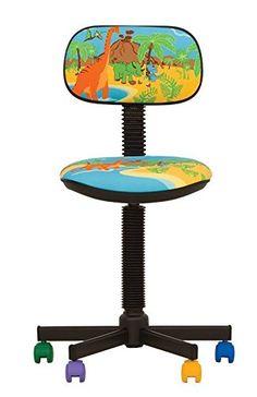 15335d794070 Bambo - Silla de escritorio infantil ergonómica, altura del asiento 42  cm-56 cm