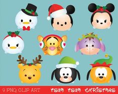 Check out our clipart easter bunny selection for the very best in unique or custom, handmade pieces from our papercraft shops. Christmas Clipart, Disney Christmas, All Things Christmas, Christmas Crafts, Christmas Embroidery Patterns, Tsumtsum, Disney Tsum Tsum, Disney Crafts, Cute Disney
