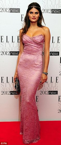 Isabeli Fontana in Dolce & Gabbana at the Elle Style Awards