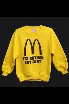 I am not loving it! #McDonalds #Health #Humour