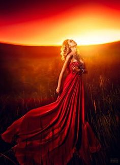 Photo by Светлана Беляева - I always wear my red evening gown in the desolated field. Best Of Tumblr, Love Is When, Red Gowns, Shades Of Red, Lady In Red, Photoshop, Beautiful Dresses, Pretty Dresses, Beautiful Things
