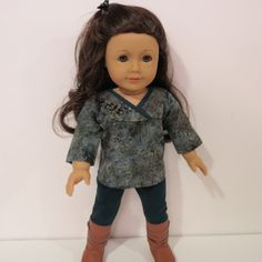 American Girl Doll Clothes Poet Top and Jeggings. by AmericAnnMade, $16.00