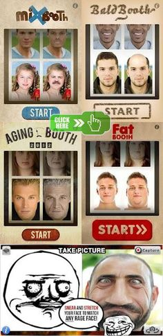 Way too funny! Try how you, your friends and family looked like when they get old, fat, bald and mixed on your #Android phone! Download here: http://m9.my/go/funny-apps-android