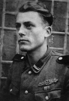 Portrait of SS-Rottenführer Werner Kindler of the Leibstandarte Division taken in 1943. He survived at least 84 days of close quarters combat and was awarded on 1 April 1945 the Close Combat Clasp in Gold, being one of the 631 men awarded this decoration. He was also awarded the German Cross in Gold, the Iron Cross First and Second Class, the East Medal and the Gold Wound Badge, having been wounded six times in action. Kindler served in Soviet Union, Italy, Normandy, in the retreat across…