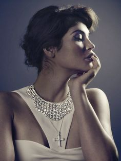 Gemma Arterton for Vanity Fair's Jewelry Supplement August 2013