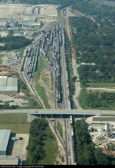 RailPictures.Net Photo: Union Pacific Yard at Dallas, Texas by Mike Bates
