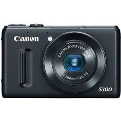 Amazon.com: Canon PowerShot S100 12.1 MP Digital Camera with 5x Wide-Angle Optical Image Stabilized Zoom (Black): Camera & Photo
