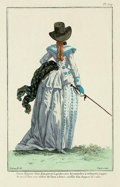 18th+Century+Fashion+Plate+259+(1787).jpg (577×900)