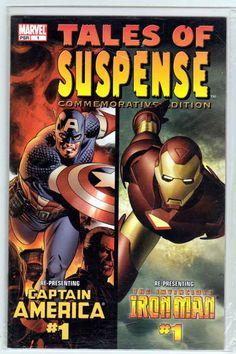 Tales of Suspense Commemorative Edition - Captain America  Iron Man (2004) Steve Epting Cover & Pencils,  Ed Brubaker & Warren Ellis Story