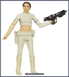 "Padme Amidala from Star Wars - Black Series - 3.75"" Scale - Orange Package manufactured by Hasbro [Loose]"