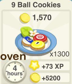 oven 9 ball cookies 9ballcookies Recipe