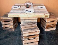 42 Creative Diy Pallet Kitchen Table Ideas Craft And Home