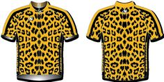 Available to order in 3 lengths Matching shorts, long sleeve jersey and fleece also available. Cheetah Shorts, Cycling Jerseys, Bike Stuff, Cycling Outfit, Men Casual, Blouse, Long Sleeve, Mens Tops, Animals