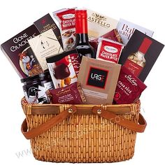 It includes a BC VQA wine along great gourmet savoury treats, chocolates and cookies. Wine Gift Baskets, Gourmet Gift Baskets, Gifts Delivered, Wine Gifts, Fresh Fruit, Chocolates, Gourmet Recipes, Vancouver, Canada