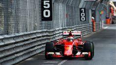 Kimi Raikkonen at the MonacoGP F1 News, Monaco Grand Prix, F1 Season, Ferrari F1, F1 Drivers, Car And Driver, Monte Carlo, Race Cars, Vehicles