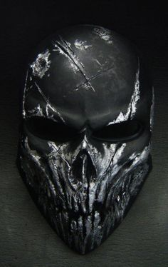 Army of Two Airsoft Paintball BB Mask Black Devil Sister Tatto, Art Café, The Punisher, Neck Tatto, Mascaras Halloween, Army Of Two, Totenkopf Tattoos, Airsoft Mask, Tactical Gear