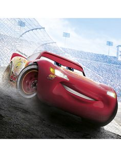 20 Cars™ Serviettes: These 20 Cars™ serviettes are official products from Disney™. Each serviette measures 16.5cm and is printed with an image of Lightening McQueen on the race track. Use these...
