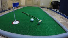 DIY Portable Golf Putting Green for Less Than $1 per square foot
