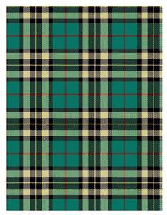 tartan, Love these colors as well!
