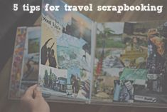 5 tips for travel scrapbooking! i traveled to bali and knew i would want to cherish this trip forever in a unique way, see how i went about putting my scrapbook together on my blog.
