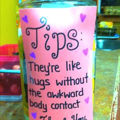 10 W Ideas Funny Tip Jars Tip Jars Funny Tips