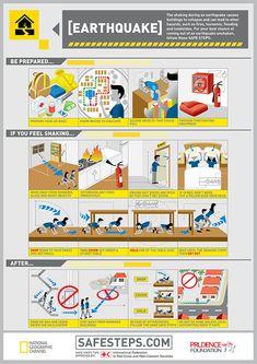 Survival Smarts: Earthquake Scenario Infographic