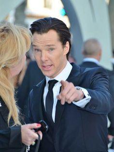 Benedict! #StarTrek #IntoDarkness premier.