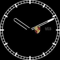 Image result for porsche android watch face round