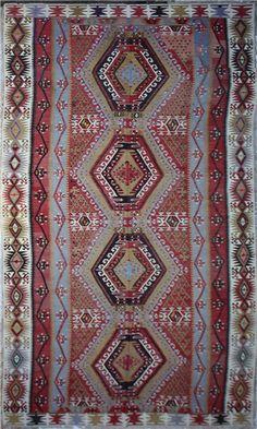R5884 Antique Anatolian Kilim Turkish Kilim Rugs, Persian, Bohemian Rug, Antiques, Decor, Antiquities, Antique, Decoration, Persian People