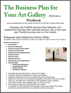 Catering service business plan stuff pinterest business the business plan for your art gallery accmission Choice Image