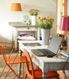 Decorando en COLOR VITAMINA..naranja para los amigos | Decorar tu casa es facilisimo.com