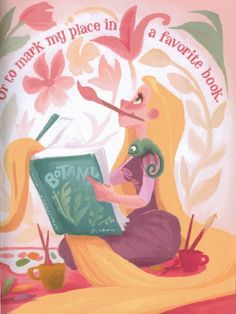 disney: Claire Keane 'Tangled' art