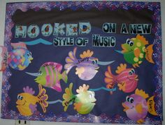 Bulletin Boards for the Music Classroom - thinking