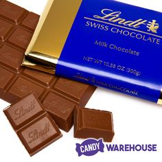 Quality chocolate you're going to love — Lindt Swiss Milk Chocolate Gold Bars Sea Salt Chocolate, Dove Chocolate, Lindt Chocolate, Chocolate Packaging, Chocolate Recipes, Swiss Chocolate Brands, Chocolates, Gold Candy, Cinnamon Powder