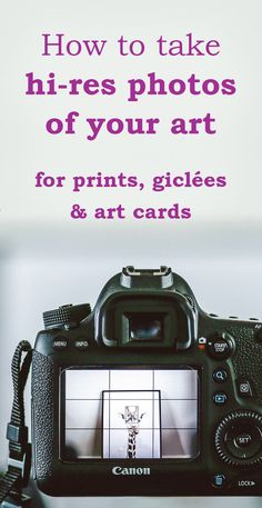 p/how-to-take-hi-res-photos-of-your-art-for-prints-giclees-and-art-cards - The world's most private search engine Selling Art Online, Online Art, Photographing Artwork, Photography Lessons, Urban Photography, Abstract Photography, Photography Tutorials, Color Photography, Creative Photography