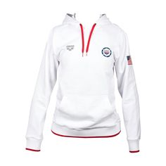 2962610be USA Swimming Pullover Hoodie
