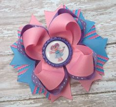 Abby Cadabby Hair Bow  Baby Toddler Girls by JustinesBoutiqueBows