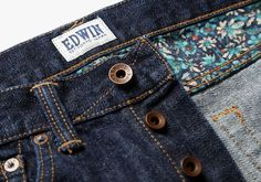Edwin Utilise the Floral Skills of Liberty for ED 80 Jeans   Photo