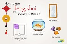 how to use feng shui for money and wealth