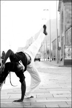 ♂ world martial art black and white capoeira