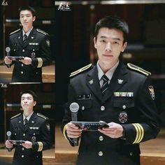 Donghae at Military Musical and healing camp
