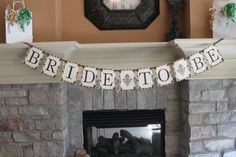 Bride to Be Bridal Shower Printable Banner by partypapercreations, $6.95