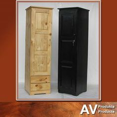 Stunning #wooden closets will be perfect for any bedroom. Closets available from AV Produkte / AV Products. #solidwood